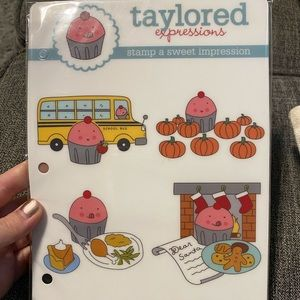 Taylored Expressions Office - Taylored Expressions Fall Stamp Set
